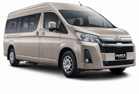 Toyota Hiace Medan Car Rental